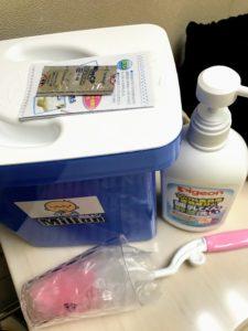 哺乳瓶消毒セット