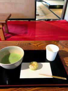 岩崎邸抹茶セット